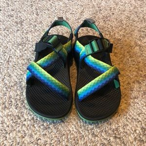 Chaco Blue Green Unaweep H20 Trail sport sandals 2